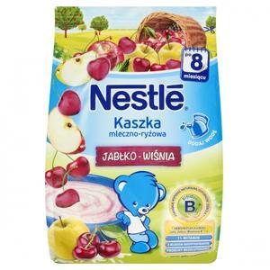 Nestle, kaszka mleczno-ryżowa o smaku jabłko-wiśnia marki Kaszki Nestlé - zdjęcie nr 1 - Bangla