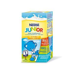 Nestle, Junior, Mleko o smaku waniliowym marki Kaszki Nestlé - zdjęcie nr 1 - Bangla