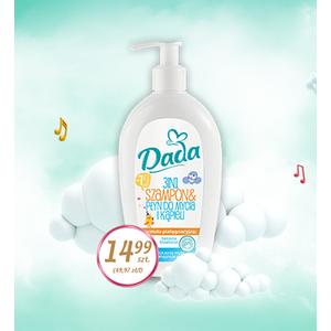 Dada, Szampon & Płyn do mycia i kąpieli 3in1 marki Biedronka - zdjęcie nr 1 - Bangla