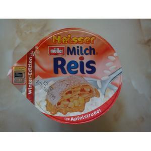 Heisser Milchreis, ryż na mleku na ciepło, różne smaki marki Muller - zdjęcie nr 1 - Bangla