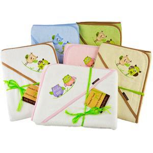 Bambusowe ręczniki kąpielowe z kapturkiem marki www.dlabobasow.pl - zdjęcie nr 1 - Bangla