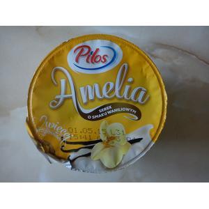 Pilos, Amelia, serek o smaku waniliowym marki Lidl - zdjęcie nr 1 - Bangla