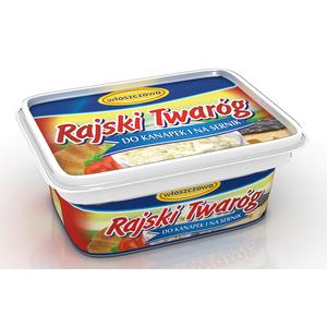 Rajski twaróg, do kanapek i na sernik marki OSM Włoszczowa - zdjęcie nr 1 - Bangla