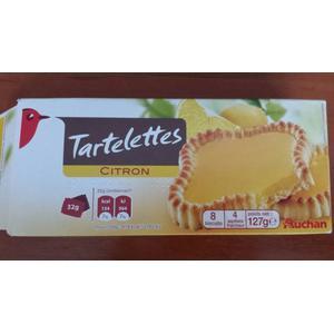 Tartelettes, mini tarty z ciasta kruchego z nadzieniem, różne smaki marki Auchan - zdjęcie nr 1 - Bangla
