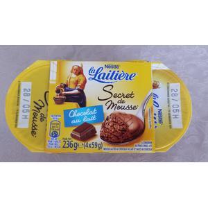 La Laitiere, Secret de Mousse, Mus czekoladowy marki Kaszki Nestlé - zdjęcie nr 1 - Bangla