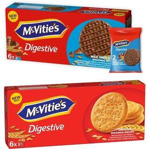 Digestive, ciasteczka pełnoziarniste - różne rodzaje marki McVitie's - zdjęcie nr 1 - Bangla