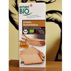 Ciasteczka maślane z mąki orkiszowej marki EnerBio - zdjęcie nr 1 - Bangla