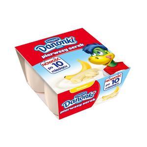 Danone, Danonki Pierwszy serek banan marki Danone - zdjęcie nr 1 - Bangla
