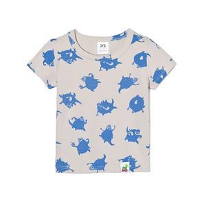 nosweet, T-shirt Gadzina w kolorze niebieskim marki nosweet - zdjęcie nr 1 - Bangla