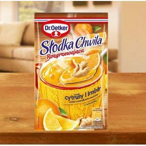 Słodka Chwila Rozgrzewająca, kisiel, różne smaki marki Dr Oetker - zdjęcie nr 1 - Bangla
