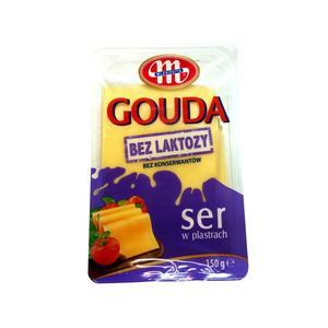 Ser żółty w plastrach bez laktozy, różne rodzaje marki Mlekovita - zdjęcie nr 1 - Bangla