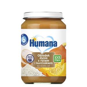 Humana, Obiadek dynia z ryżem i kurczakiem (100% Organic) marki Humana - zdjęcie nr 1 - Bangla