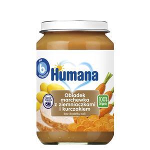 Humana, Obiadek marchewka z ziemniaczkami i kurczakiem (100% Organic) marki Humana - zdjęcie nr 1 - Bangla