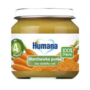 Humana, Marchewka puree (100% Organic) marki Humana - zdjęcie nr 1 - Bangla