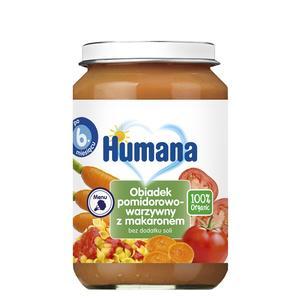 Humana, Obiadek pomidorowo-warzywny z makaronem (100% Organic) marki Humana - zdjęcie nr 1 - Bangla