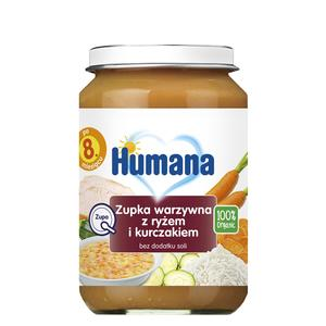 Humana, Zupka warzywna z ryżem i kurczakiem (100% Organic) marki Humana - zdjęcie nr 1 - Bangla