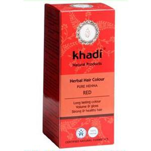 Naturalna, czerwona henna marki Khadi - zdjęcie nr 1 - Bangla