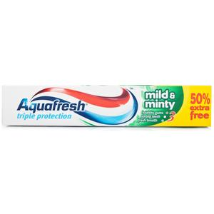 Triple Protection Mild & Minty, Pasta do zębów marki Aquafresh - zdjęcie nr 1 - Bangla