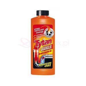 Tytan, Granulki, żel do udrożniania rur marki Zakłady Chemiczne Unia - zdjęcie nr 1 - Bangla