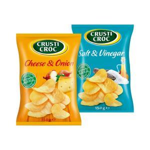 Crusti Croc, Chipsy, różne smaki marki Lidl - zdjęcie nr 1 - Bangla