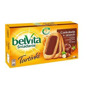 belVita, Tartine z kremem o smaku czekoladowo-orzechowym marki Mondelez Polska sp. z o.o. - zdjęcie nr 1 - Bangla