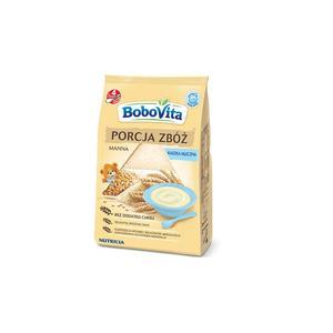 BoboVita, Porcja zbóż Kaszka mleczna manna  marki Nutricia - zdjęcie nr 1 - Bangla