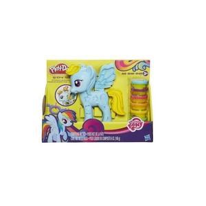 Play-doh, Ciastolina Salon fryzjerski Rainbow Dash  marki Hasbro - zdjęcie nr 1 - Bangla