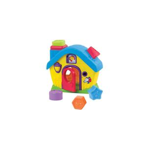 Dumel, Kolorowy Domek Sorter Kształtów marki Dumel - zdjęcie nr 1 - Bangla