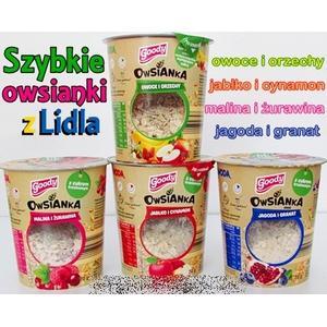 Goody, Owsianki, różne smaki marki Lidl - zdjęcie nr 1 - Bangla