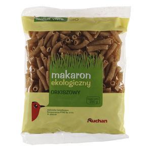Ekologiczny orkiszowy, makaron rurka marki Auchan - zdjęcie nr 1 - Bangla