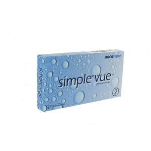 Simple Vue 2, soczewki kontaktowe miesięczne marki Mona Vision - zdjęcie nr 1 - Bangla
