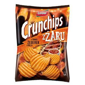 Crunchips z żaru, chipsy, różne rodzaje marki Lorenz - zdjęcie nr 1 - Bangla