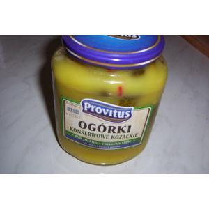 Ogórki konserwowe kozackie marki Provitus - zdjęcie nr 1 - Bangla