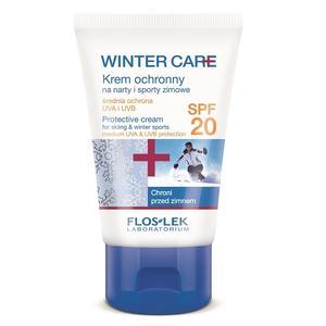 Winter Care, Krem ochronny na narty i sporty zimowe SPF 20 marki FlosLek - zdjęcie nr 1 - Bangla