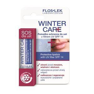 Winter Care, Pomadka ochronna do ust z filtrem UV SPF 14 marki FlosLek - zdjęcie nr 1 - Bangla