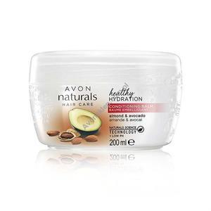 Naturals, Hair Care, Healthy Hydration, Odżywka nawilżająco-odżywcza bez spłukiwania, migdały i awokado marki Avon - zdjęcie nr 1 - Bangla