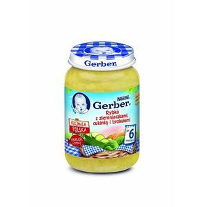 Gerber, Rybka z ziemniaczkami, cukinią i brokułami marki Dania gotowe Gerber - zdjęcie nr 1 - Bangla