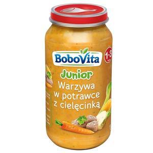 BoboVita Junior, Warzywa w potrawce z cielęcinką marki Nutricia - zdjęcie nr 1 - Bangla