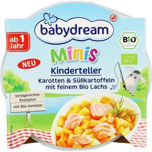 Babydream, BIO Obiadek Marchewka i słodkie ziemniaki z delikatnym łososiem marki Rossmann - zdjęcie nr 1 - Bangla