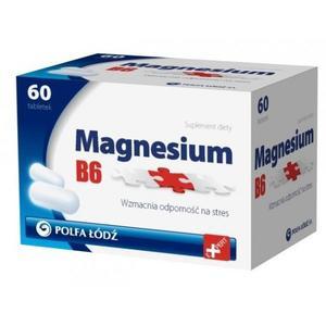 Magnesium B6, suplement diety, tabletki marki Polfa Łódź - zdjęcie nr 1 - Bangla