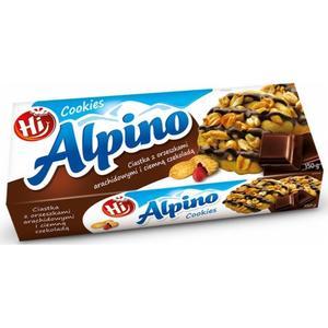 Ciastka z orzeszkami arachidowymi i ciemną czekoladą marki Hi Alpino - zdjęcie nr 1 - Bangla