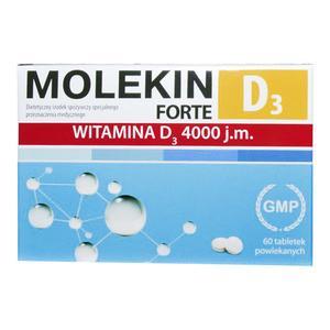 Molekin D3 Forte, dietetyczny środek spożywczy specjalnego przeznaczenia medycznego marki Zdrovit - zdjęcie nr 1 - Bangla