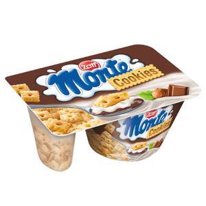 Monte z dodatkami, deser mleczny czekoladowo-orzechowy marki Zott - zdjęcie nr 1 - Bangla