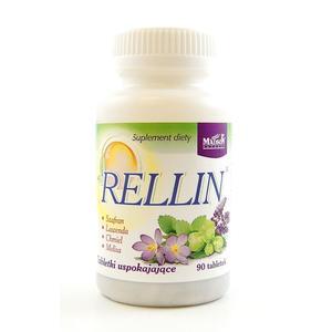 Rellin, tabletki uspokajające marki Madson Natural - zdjęcie nr 1 - Bangla