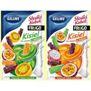 Gellwe - Słodki Kubek Frugo, Kisiel na zimno z żelkami marki FoodCare - zdjęcie nr 1 - Bangla