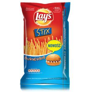 Stix, Burgersos, chipsy marki Lays - zdjęcie nr 1 - Bangla