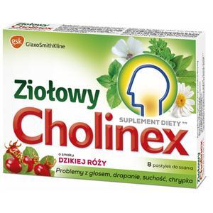 Ziołowy Cholinex, pastylki do ssania na ból gardła marki GSK Glaxo Smith Kline - zdjęcie nr 1 - Bangla