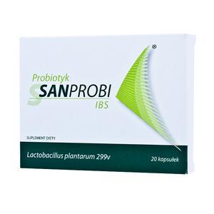 Sanprobi IBS, Lactobacillus plantarum 299v, probiotyk marki Sanum Polska - zdjęcie nr 1 - Bangla