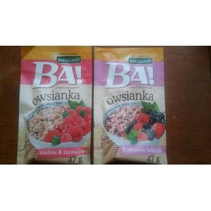 Ba! Owsianka - różne rodzaje marki Bakalland - zdjęcie nr 1 - Bangla