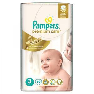 Pampers Premium Care, Pieluszki 3 z jedwabistą powłoczką i chłonnymi kanalikami marki Pampers - zdjęcie nr 1 - Bangla